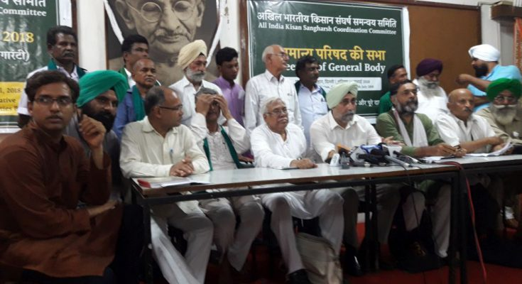 Farmers' body terms MSP hike as 'historic betrayal', to hold nationwide stir