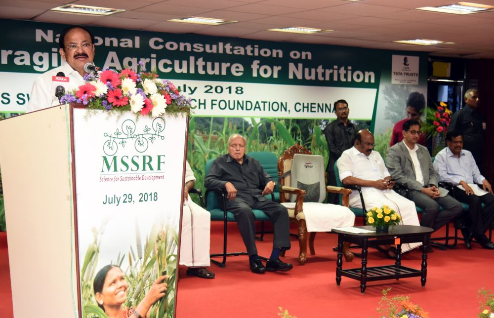 VP asks scientists to make agriculture nutrition-rich