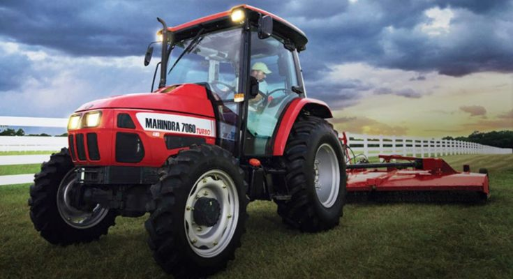 Mahindra's domestic tractor sales grow in November, exports decline