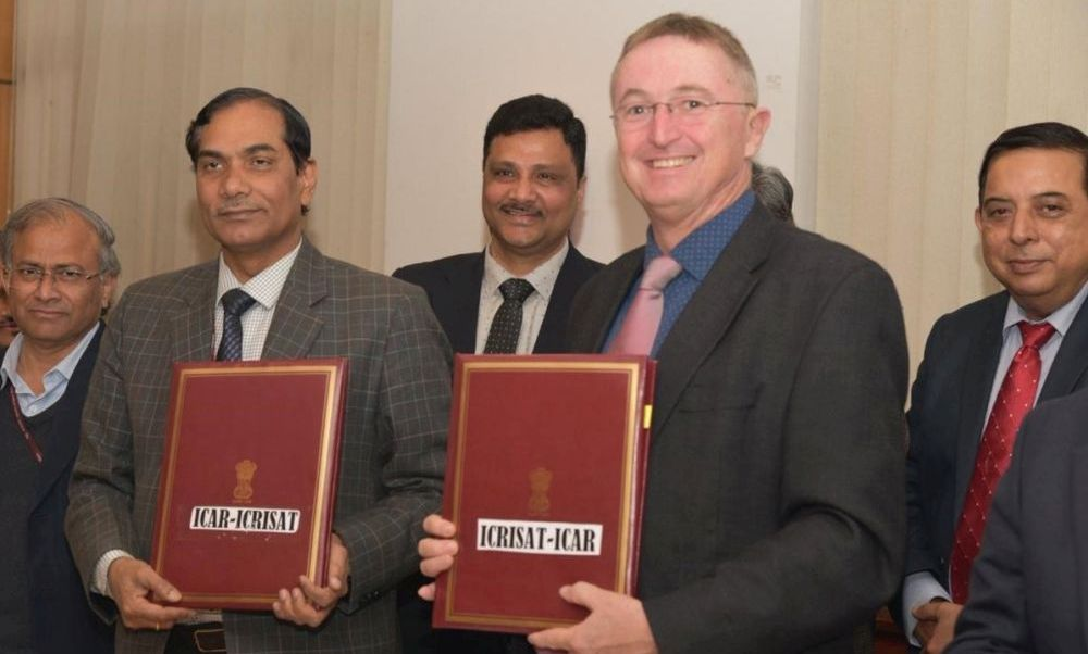 ICAR, ICRISAT sign 5-yr action plan for dryland farming