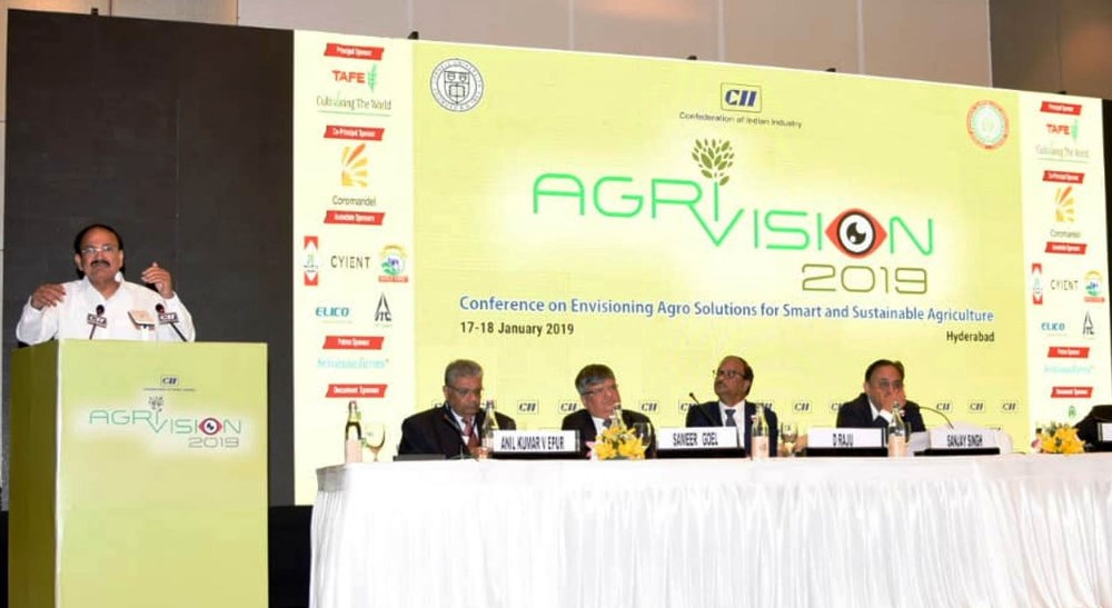 VP: Bring in structural changes to make agriculture resilient, sustainable
