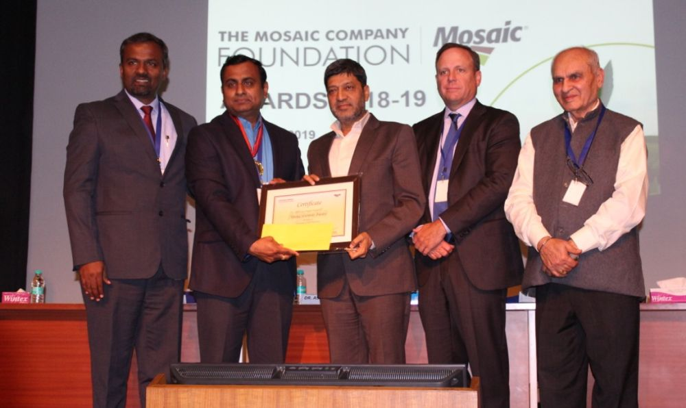 Mosaic Company Foundation confers young agriculture scientist