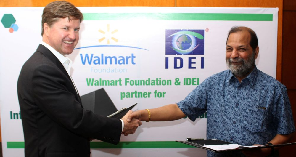 Walmart Foundation supports IDEI irrigation project in AP
