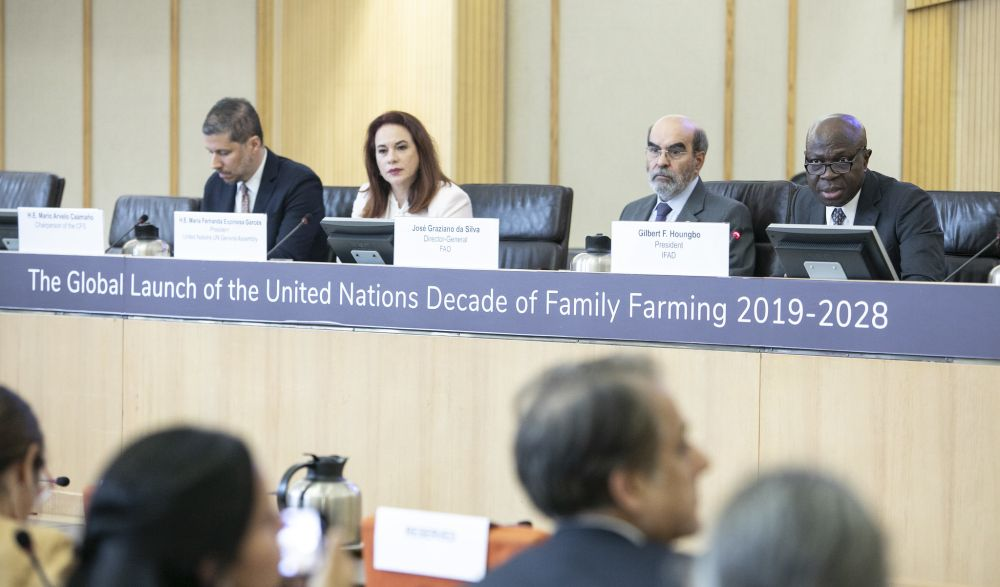 UN: Family farming to end hunger and achieve sustainable development
