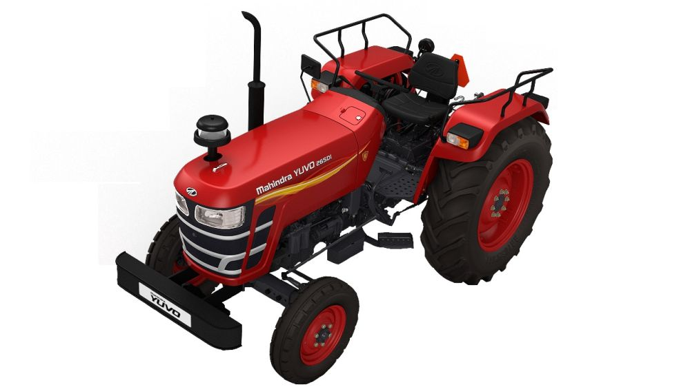 Mahindra sells 23,539 tractors India in May 2019