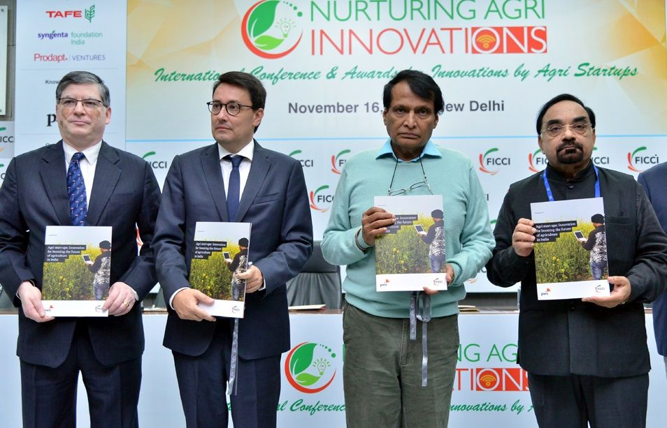 Innovation by agri start-ups essential to overcome global agriculture challenges: Suresh Prabhu