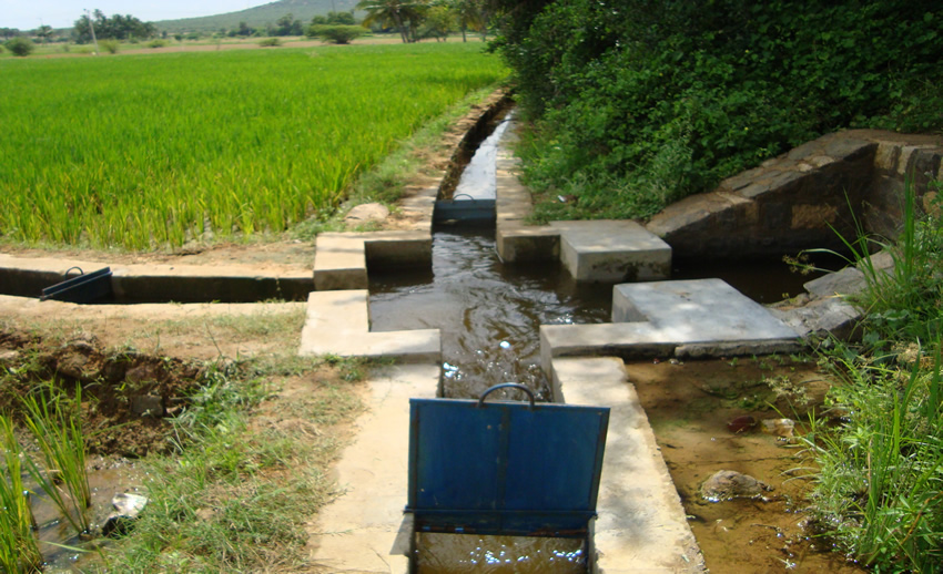 Utilisation of irrigation potential of national projects