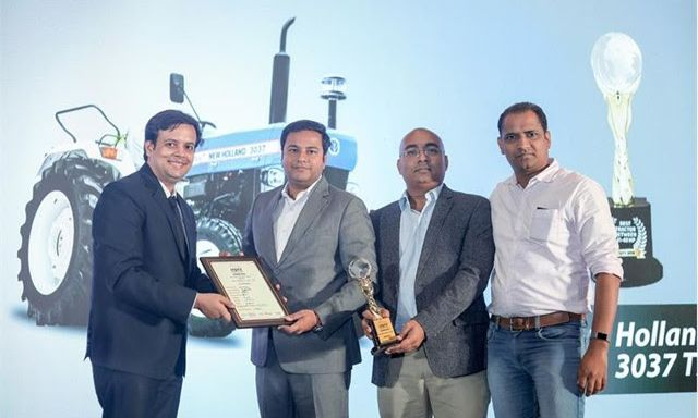 New Holland Agriculture shines at Indian Tractor of the Year Award