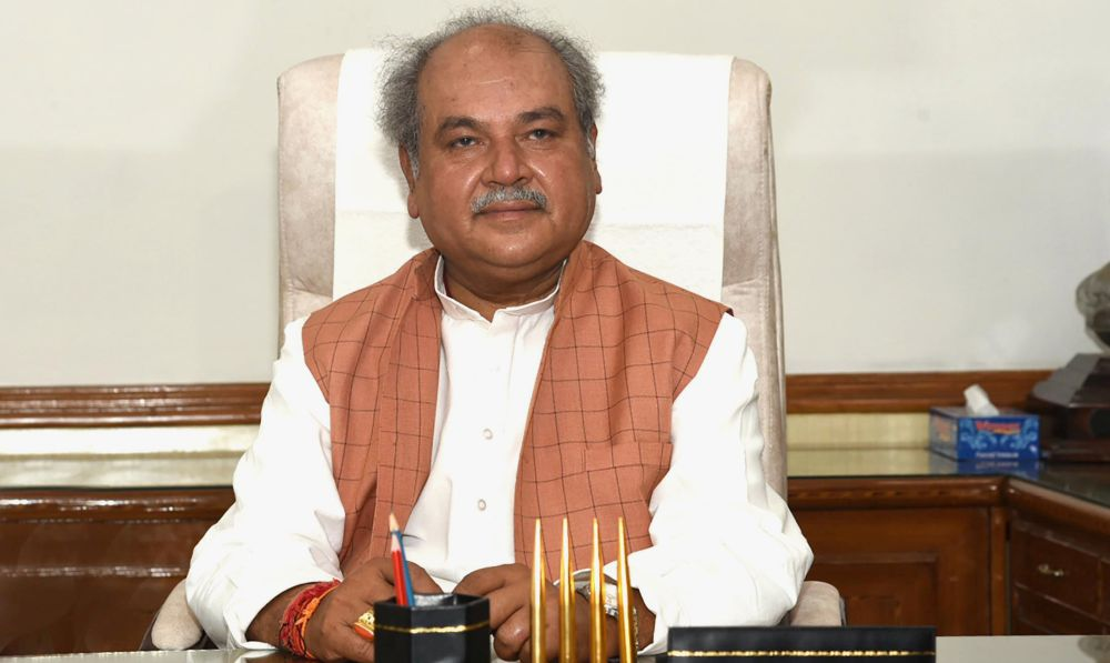 Narendra Singh Tomar takes charge of Ministryof Agriculture and Farmers Welfare