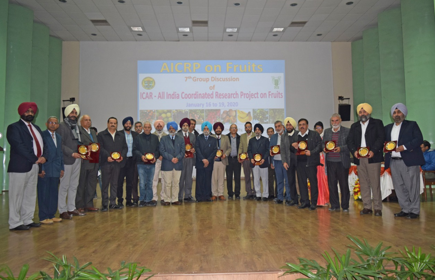 ICAR, PAU honour Punjab farmers for excellence in fruit cultivation